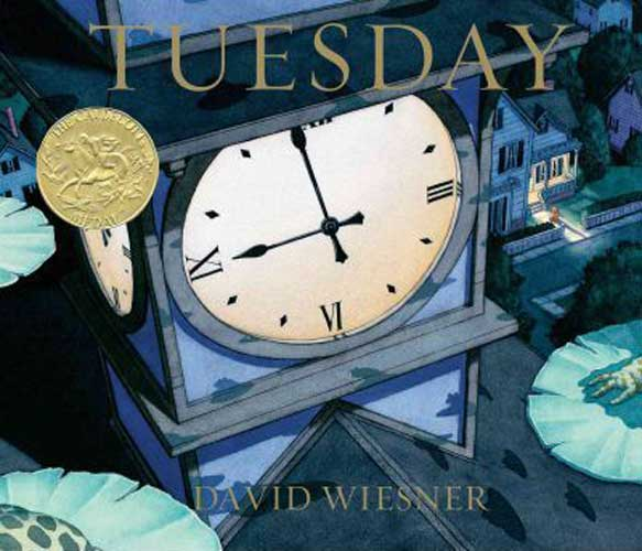 Tuesday by David Wiesner - 1st grade reading book