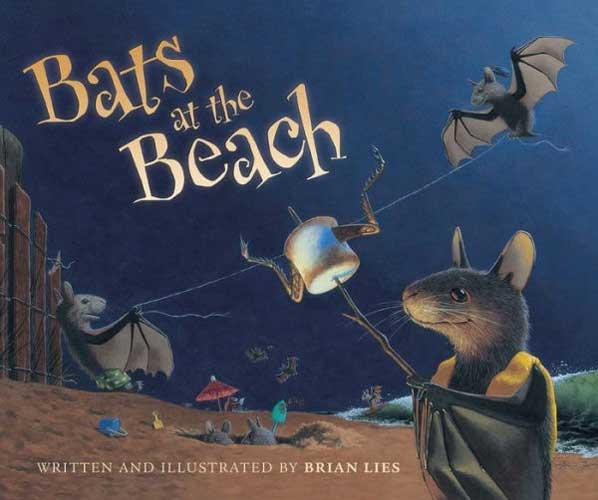 Bats at the Beach by Brian Lies - 1st grade read aloud book
