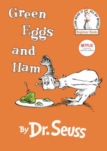 Green Eggs and Ham by Dr. Seuss - book for grade 1