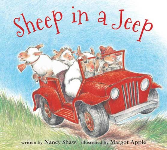 Sheep in a Jeep by Nancy Shaw - bedtime story grade 1