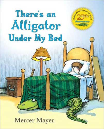 There's an Alligator Under My Bed by Mercer Mayer - books for grade 1