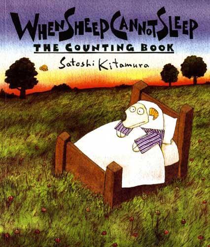 When Sheep Cannot Sleep by Satoshi Kitamura - read aloud book for 1st grade