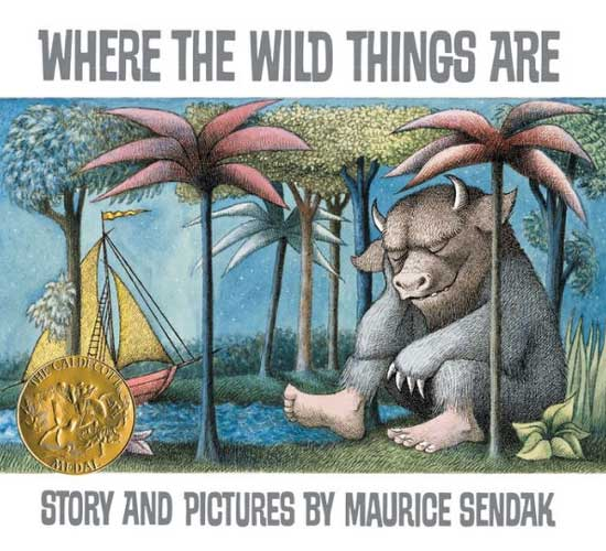 Where the Wild Things Are by Maurice Sendak - independent reading in grade 1