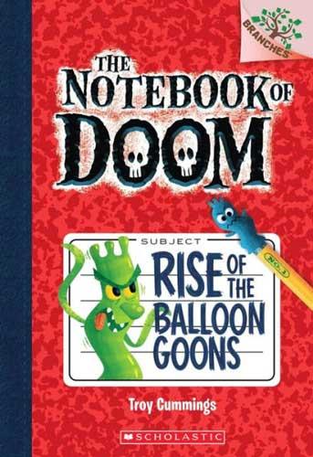 The Notebook of Doom by Troy Cummings