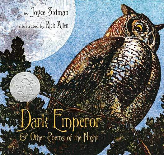 Dark Emperor and Other Poems of the Night by Joyce Sidman - 3rd grade poetry