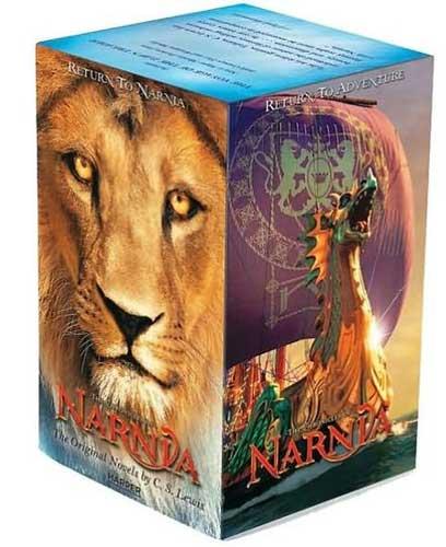 Narnia series by CS Lewis