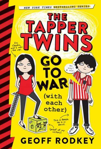The Tapper Twins by Geoff Rodkey