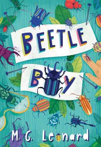 Beetle Boy by MG Leonard