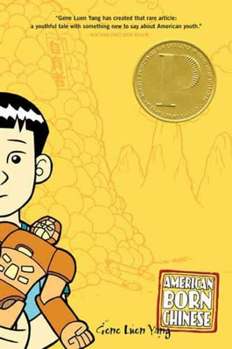 American Born Chinese by Gene Luen Yang - a great novel for 9th grade book clubs