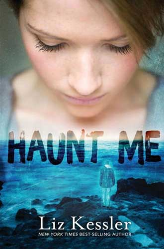 Haunt Me by Liz Kessler. A thought-provoking 9th grade read.