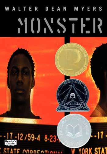 Monster by Walter Dean Meyers = an introduction to horror for 9th graders