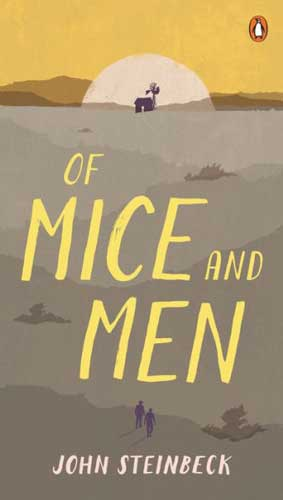 Of Mice and Men by John Steinbeck - a classic to discuss in 9th grade literature classes