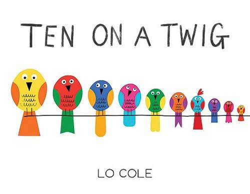 Ten on a Twig by Lo Cole