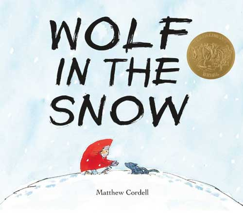 Wolf in the Snow by Matthew Cordell